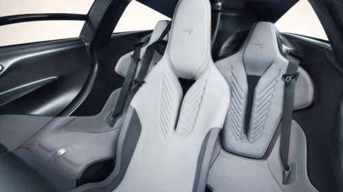2019 McLaren Speedtail interior 1