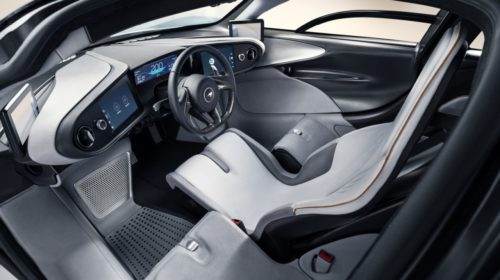 2019 McLaren Speedtail interior 2