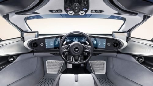 2019 McLaren Speedtail interior 3