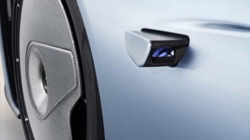 2019 McLaren Speedtail rearview camera