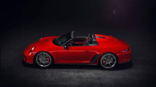 2019 Porsche 911 Speedster Paris Motor Show 5