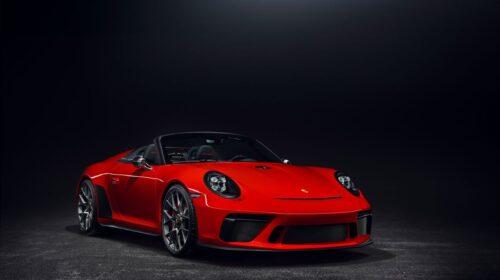 2019 Porsche 911 Speedster Paris Motor Show 7