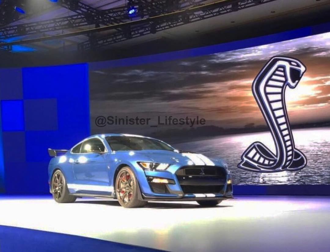 2019 Shelby Mustang GT500 Leaked 1