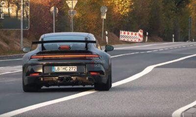 992 Gen Porsche 911 GT3 Nurburgring spy shots