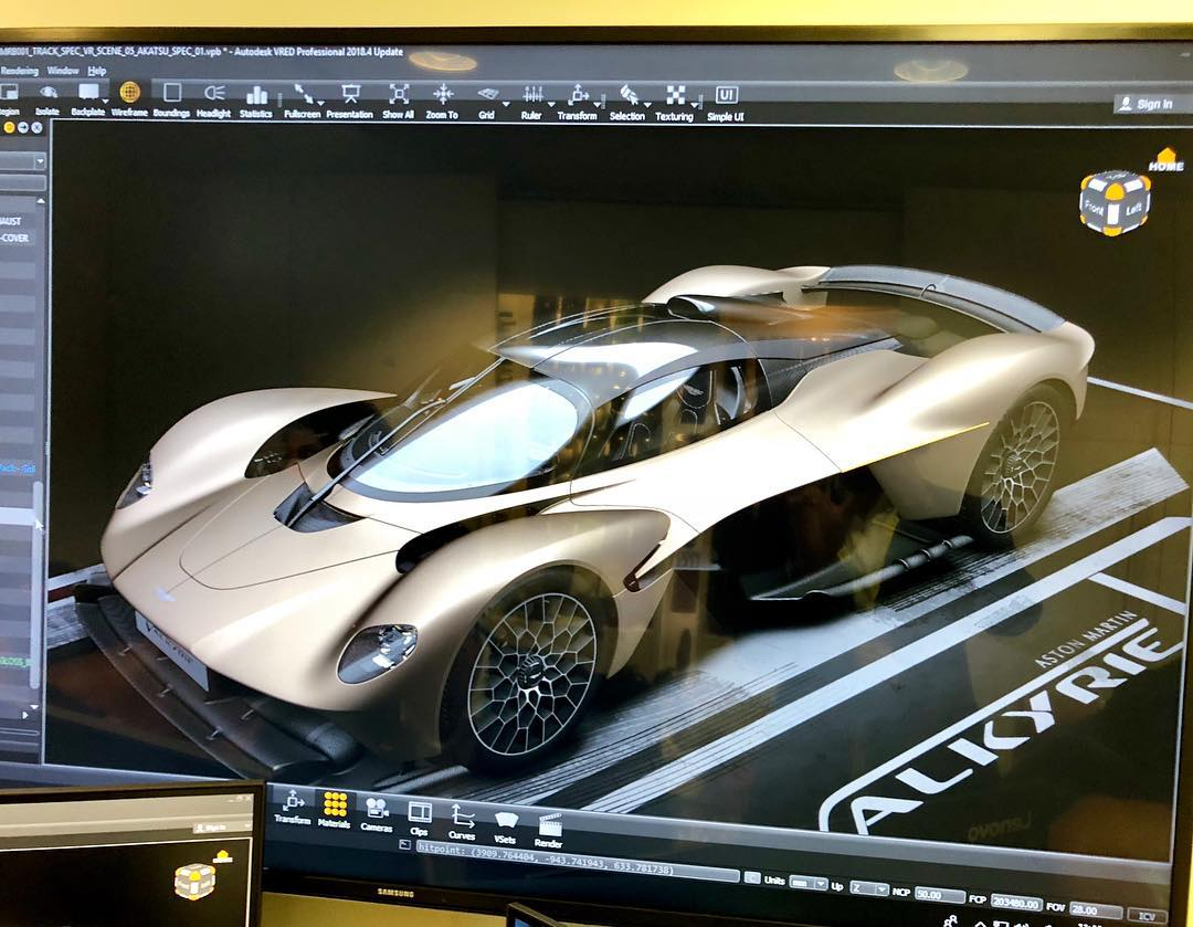 Aston Martin Valkyrie production spec leaked 1