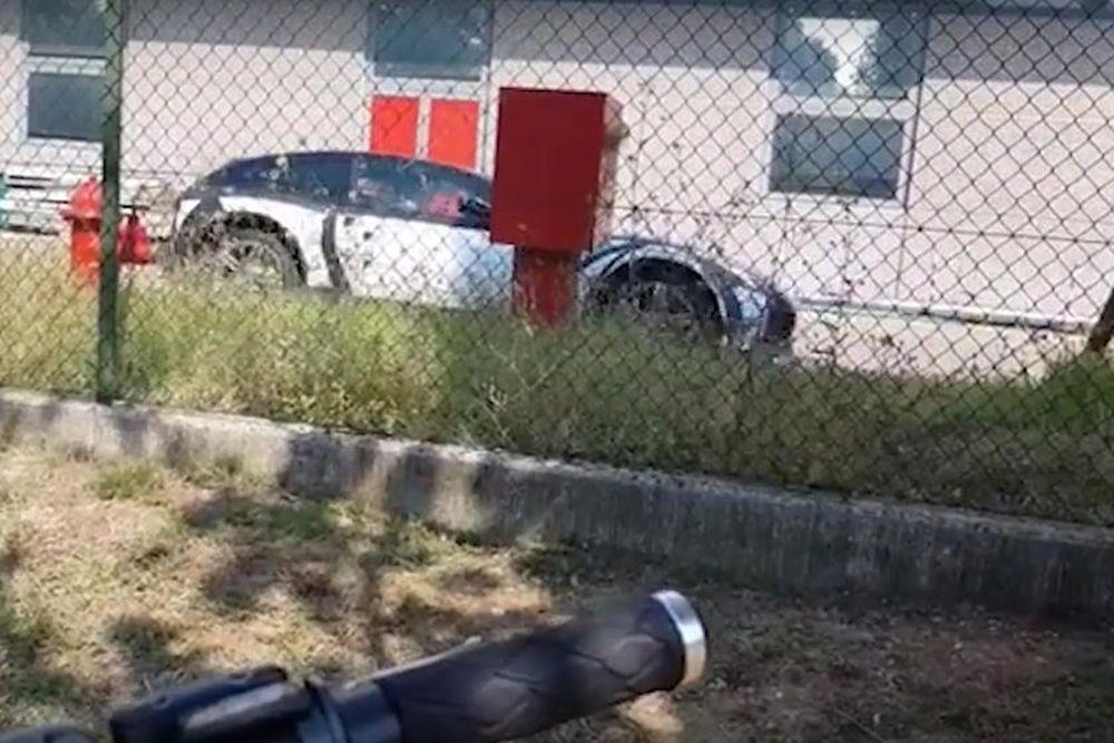 Ferrari Purosangue SUV Test Mule