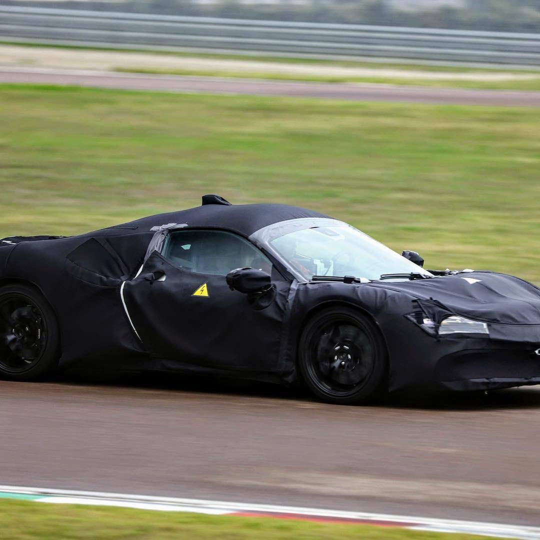 Ferrari mid engine hybrid prototype fiorano 6