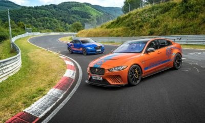 Jaguar XE EV Project 8 Nurburgring Race Taxi