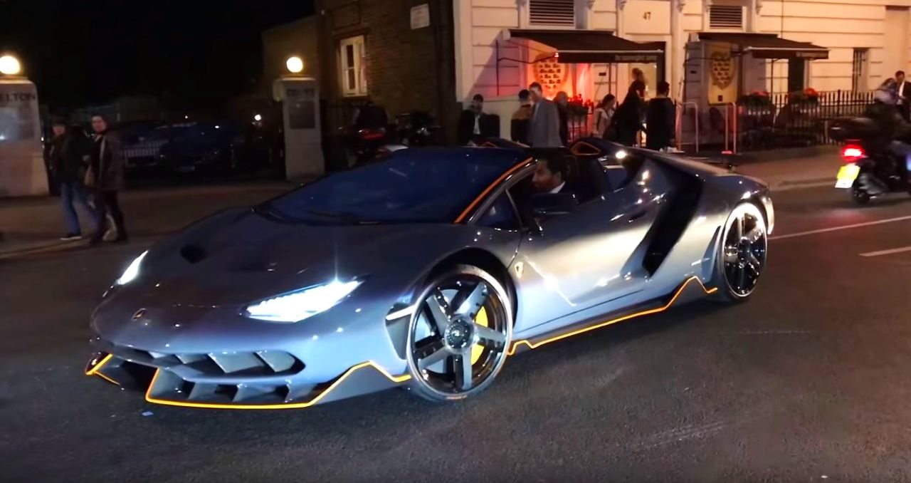 Lamborghini Centenario Roadster Looks Absurd On London Streets The