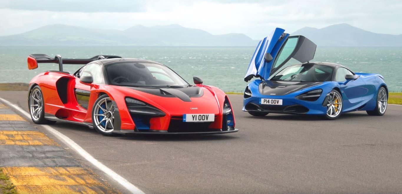 McLaren 720S vs Senna