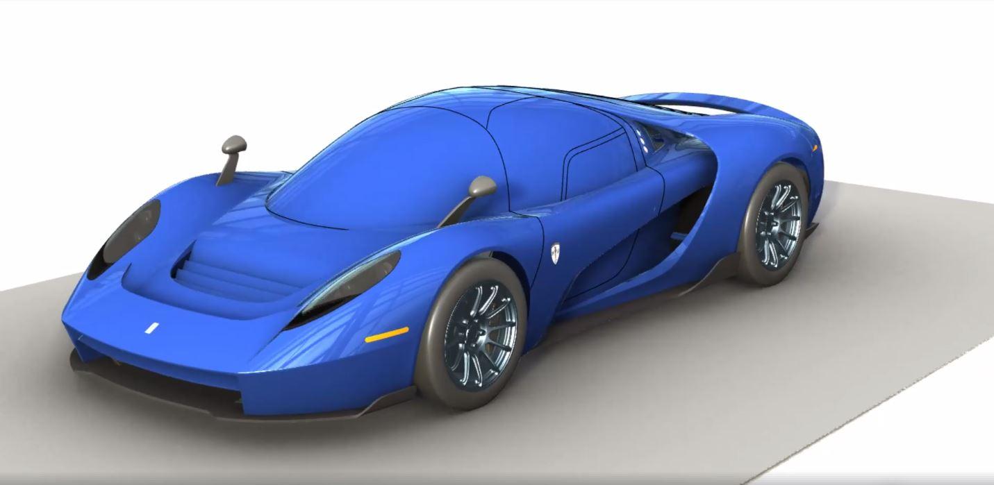 SCG 004S 3D renderings