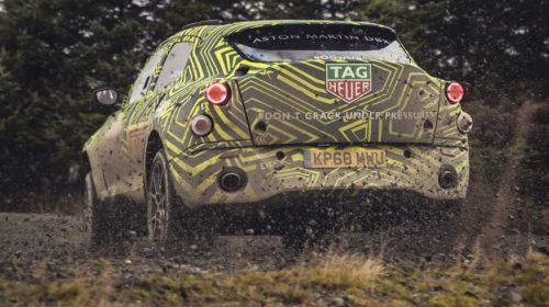Aston Martin DBX SUV Prototype Testing