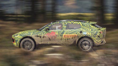 Aston Martin DBX SUV Prototype Testing (6)