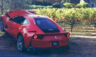 Ferrari 912 Superfast-crash-Rob Report 2018
