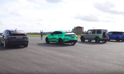 Model X-Urus-G63-RR Sport-drag race