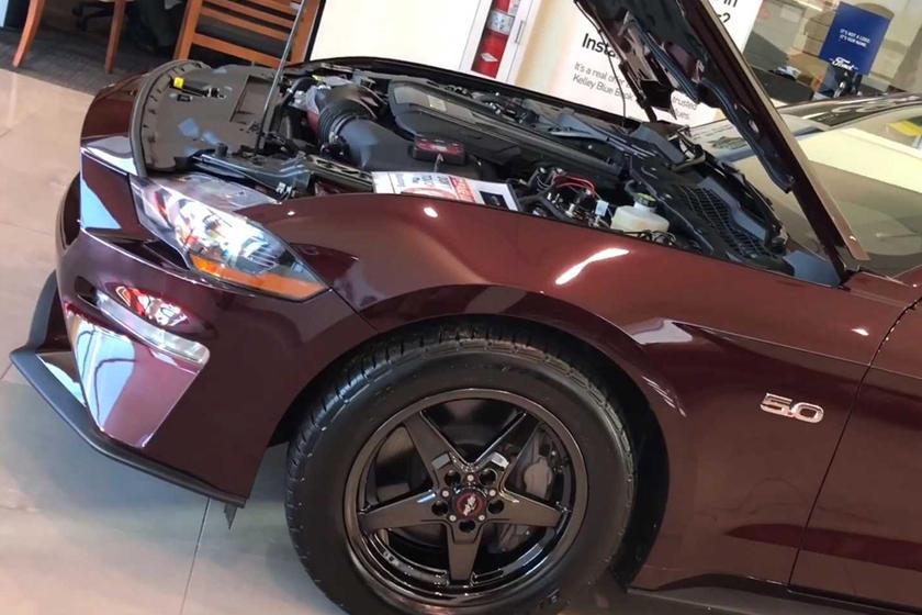 Nitrous Ford Mustang BFP Drag Pak