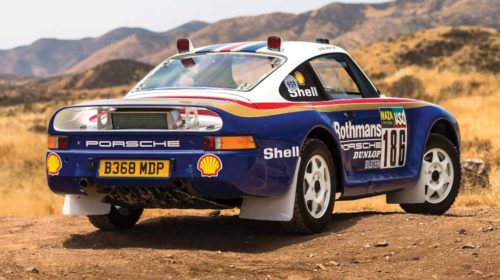 Porsche 959 Rally Car-RM Sothebys Auction-2018-3