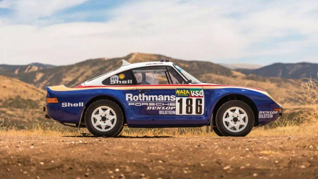 Porsche 959 Rally Car-RM Sothebys Auction-2018-4