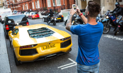 Supercars of London-car spotter