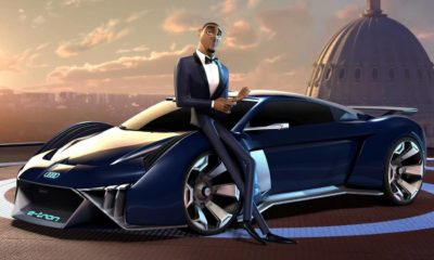 Spies in Disguise Will Smith Audi RSQ E-Tron