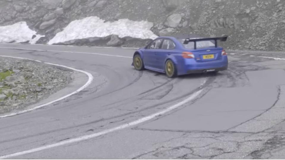 Subaru WRX STI Type RA Time Attack