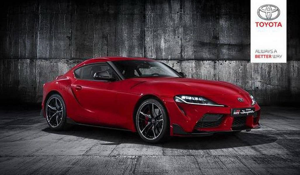 2020 Toyota Supra MkV-leaked official image-1