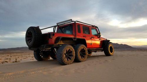 Jeep Wrangler Rubicon 6X6