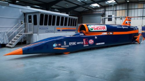 Project Bloodhound SS Speed Record Car