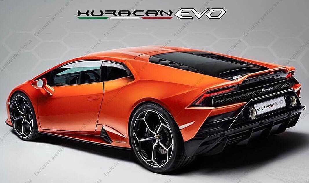 2020 Lamborghini Huracan EVO-leaked image-1