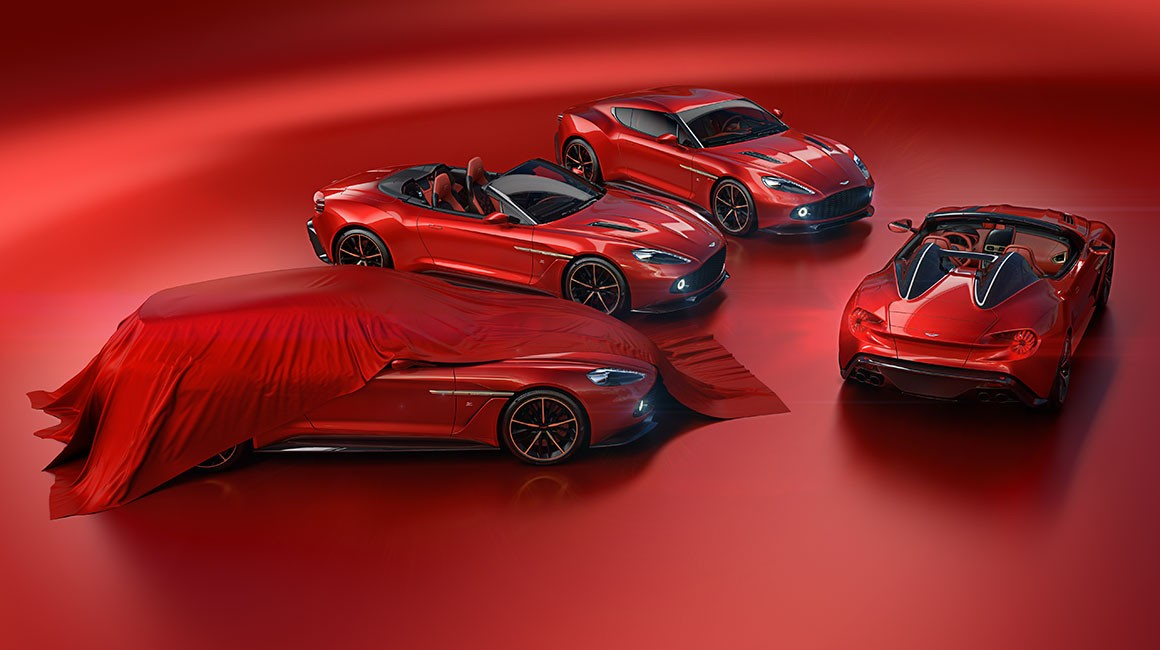 Lucky Guy Buys All 4 Aston Martin Vanquish Zagato Cars