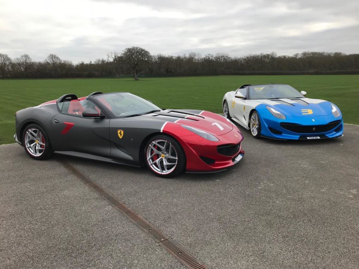 Ferrari Sp3jc Owner Buys A Lhd Version To Drive In Europe The Supercar Blog