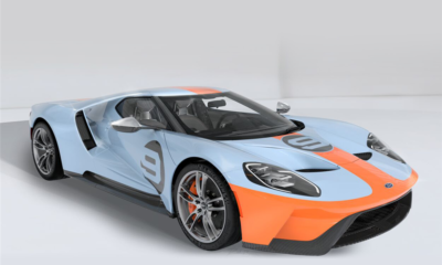 Ford GT-Gulf-livery-Barett-Jackson-auction-2019