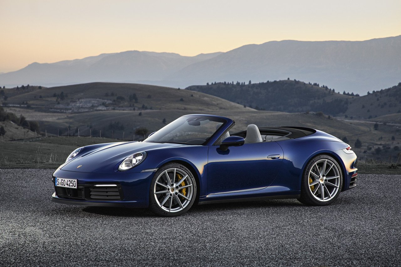 992 Gen Porsche 911 Goes Open Top With The Cabriolet The Supercar Blog