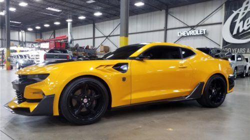 Transformers Bumblebee Camaro Auction