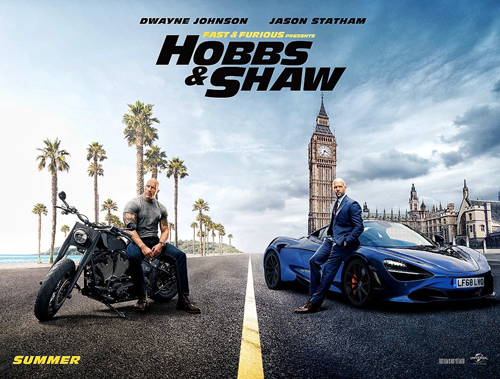 Fast and Furious Presents Hobbs and Shaw Poster
