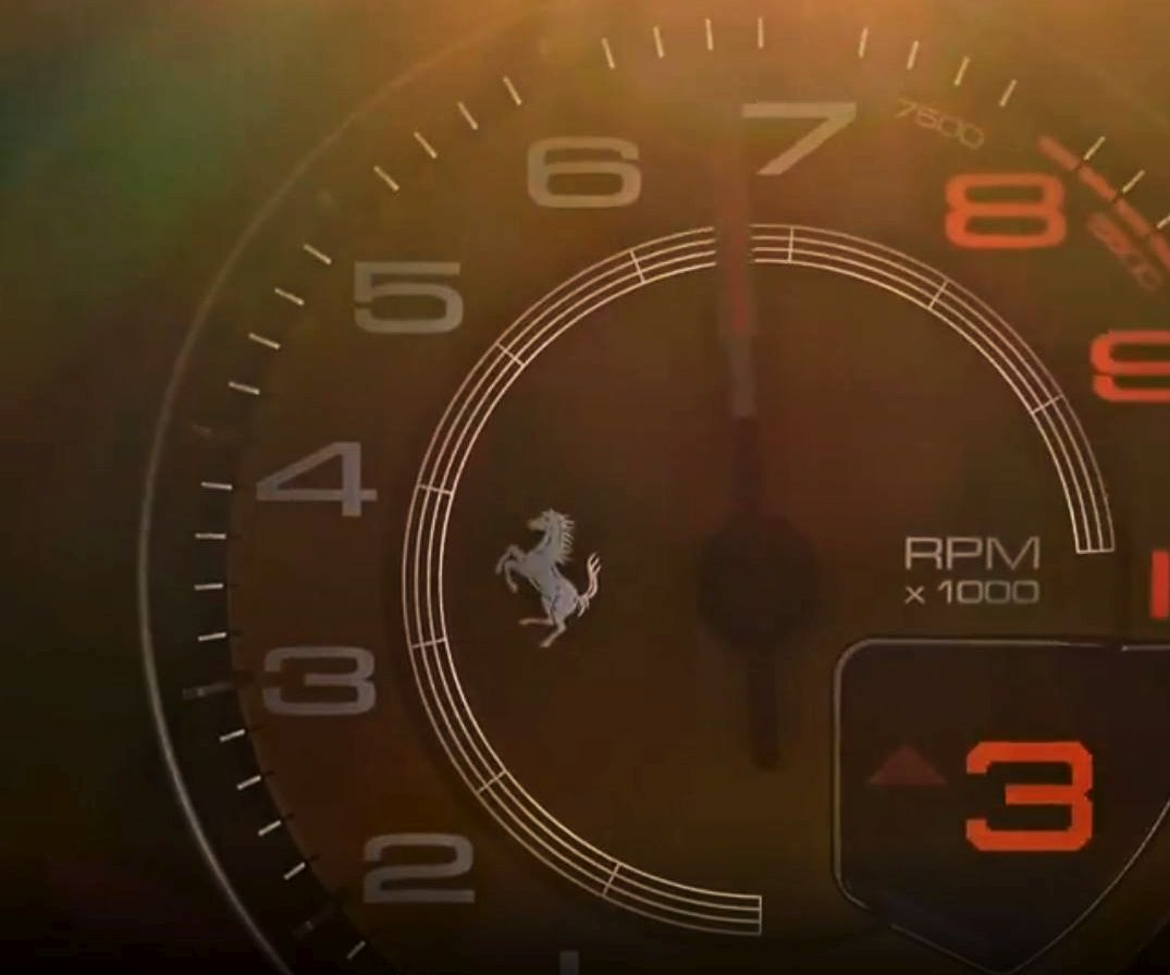 Ferrari 488 replacement-successor-teaser video