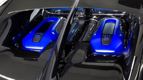 First Bugatti Chiron Sport