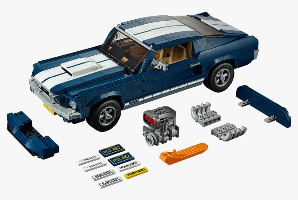 LEGO Creator Expert 1967 Ford Mustang GT Fastback