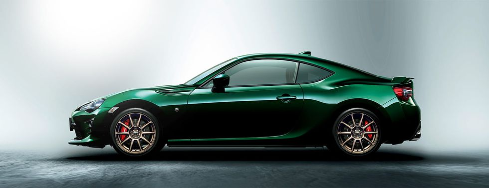 Toyota 86 British Green Edition