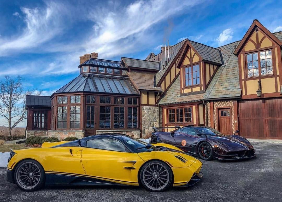 Yellow-Pagani Huayra Roadster Big Bird-Sparky18888-3