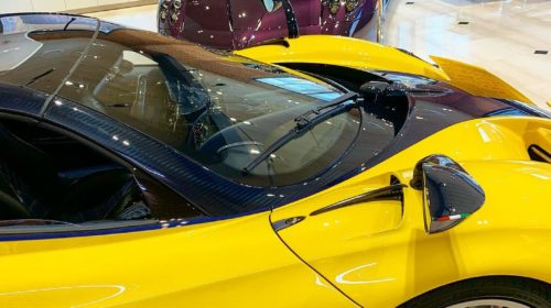 Yellow-Pagani Huayra Roadster Big Bird-Sparky18888-5