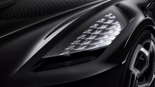 Bugatti La Voiture Noire-2019 Geneva Motor Show-7