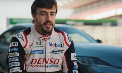 Fernando Alonso Toyota Supra