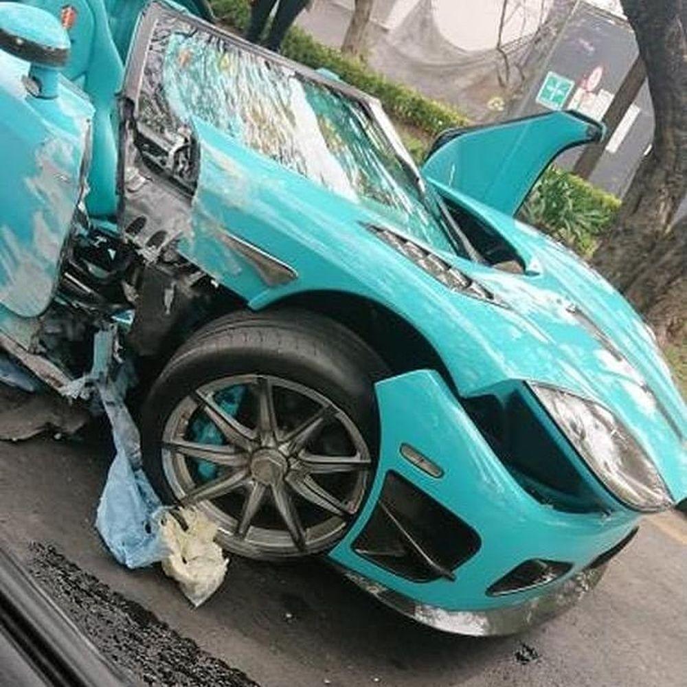 Koenigsegg CCXR Special One-crash-Mexico-2