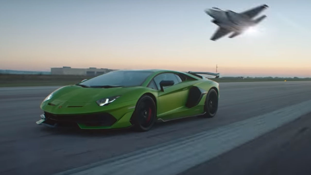 Badass Lamborghini Aventador Svj Promo Video Compares It To A