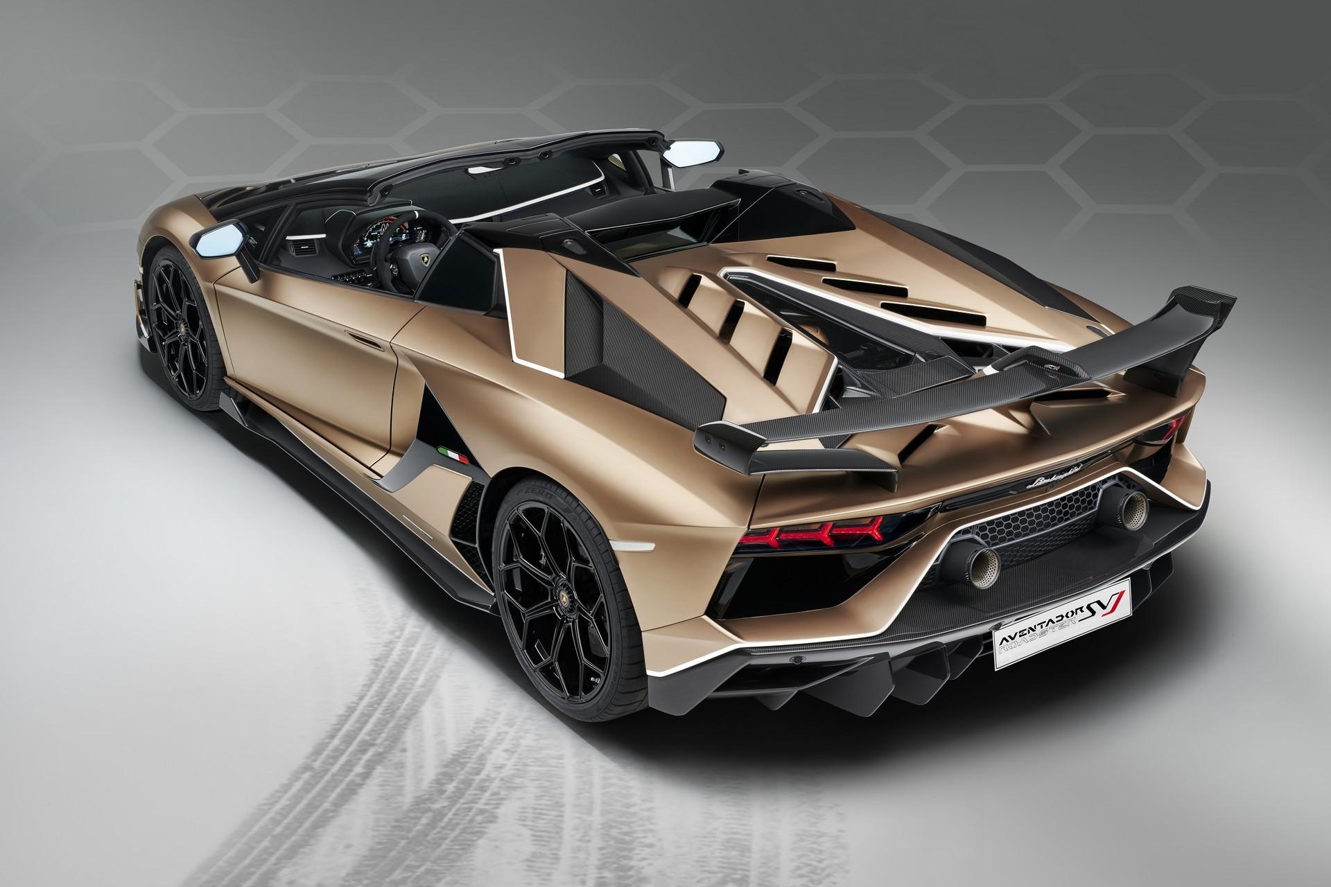 2019 Geneva Motor Show The Fabulous Lamborghini Aventador Svj