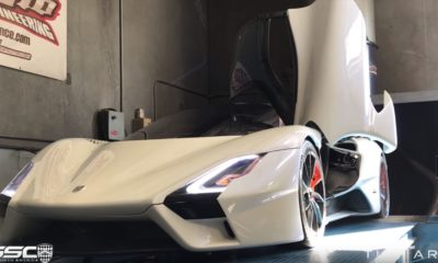 SSC Tuatara-dyno run