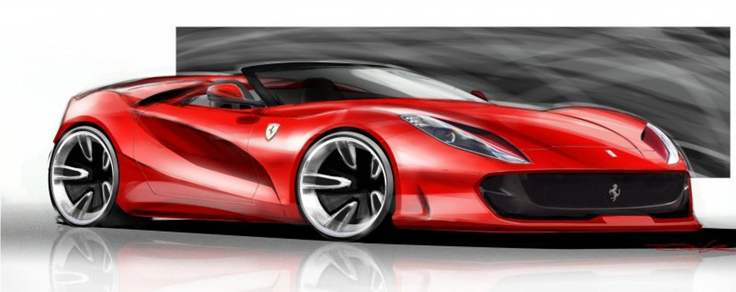 rumor ferrari 812 spider coming later this year the supercar blog