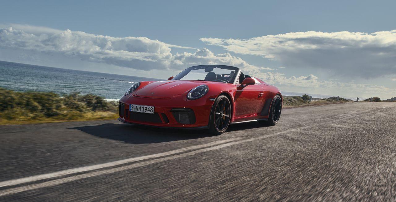 2019 Porsche 911 Speedster-NY Auto Show-3