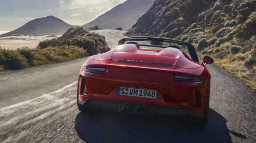 2019 Porsche 911 Speedster-NY Auto Show-4